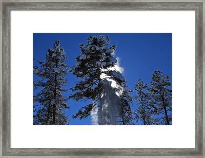 Powderfall Framed Print by Gary Kaylor