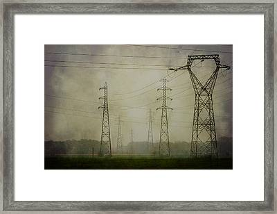 Power 5. Framed Print by Clare Bambers