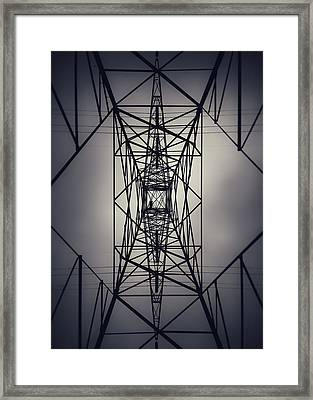 Power Above Framed Print