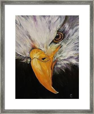 Power And Strength    64 Framed Print
