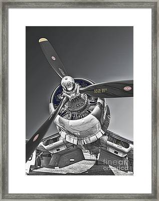 Power And The Majesty Framed Print by James Taylor