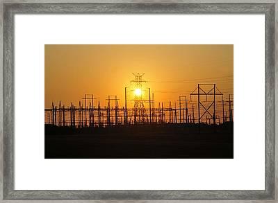 Power Framed Print by David Lee Thompson