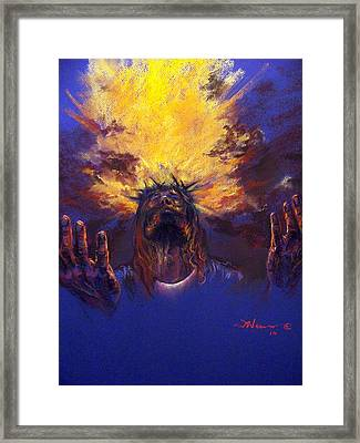Power From On High Framed Print by Tommy  Winn