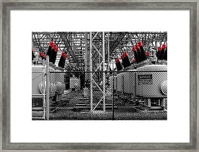 Power Generation Framed Print by William Jones