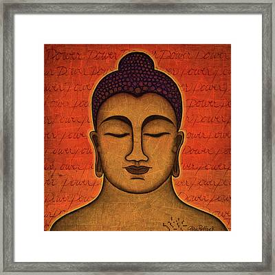 Power Framed Print by Gloria Rothrock