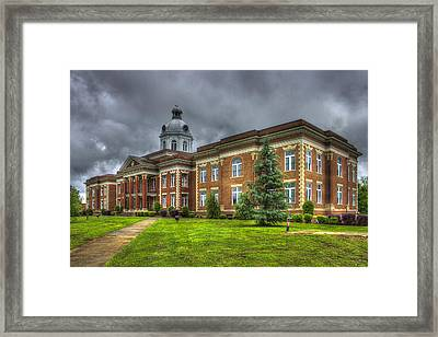 Power House 2 Putnam County Court House Framed Print by Reid Callaway