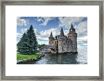 Power House Of Boldt Castle Thousand Islands New York Framed Print
