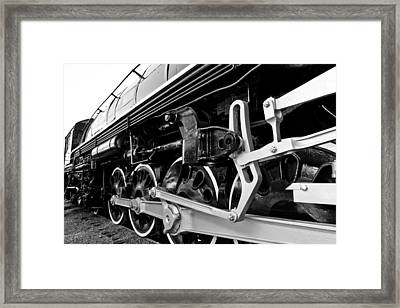 Power In The Age Of Steam Framed Print by Dan Dooley