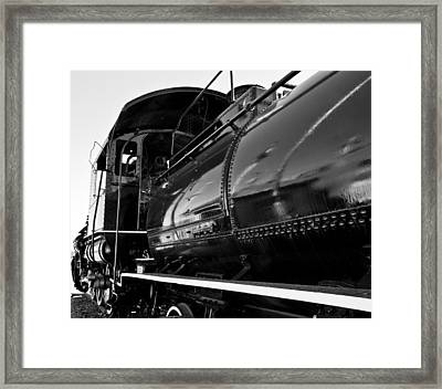 Power In The Age Of Steam 5 Framed Print by Dan Dooley