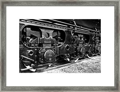 Power In The Age Of Steam 6 Framed Print by Dan Dooley