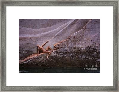 Power Framed Print by Inge Johnsson