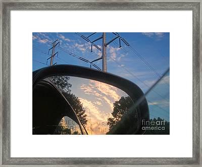 Power Framed Print by Kristine Nora