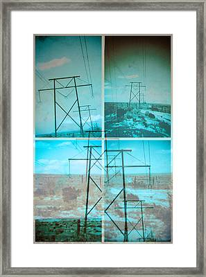 Power Line Patriots Framed Print