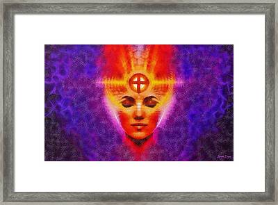 Power Mind - Pa Framed Print