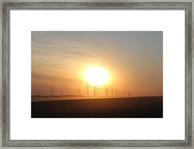Framed Print featuring the photograph Power Of Change by Christie Minalga