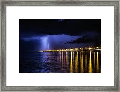 Power Of God Framed Print