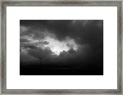 Framed Print featuring the photograph Power Of Love by Holly Ethan