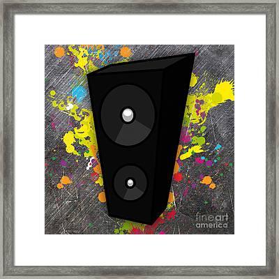 Power Of Music Framed Print