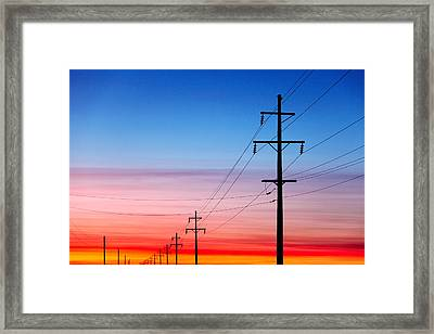 Power Of Nature Framed Print by Todd Klassy