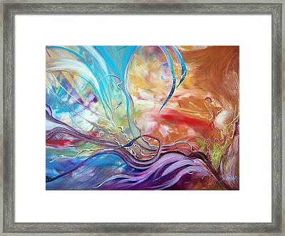 Power Of Now Framed Print