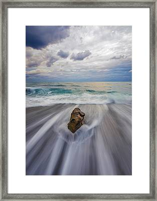 Power Of One Framed Print by Mike Lang