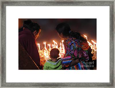 Power Of Prayer Framed Print