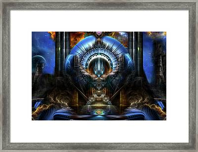 Power Of The Oracle Framed Print