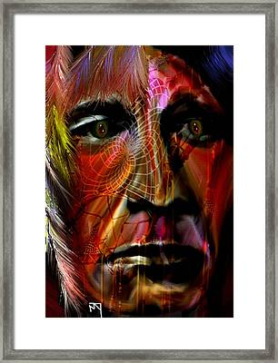 Power Of The Spirits Framed Print by Michelle Dick
