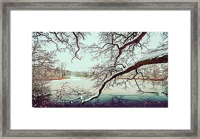 Power Of The Winter Framed Print