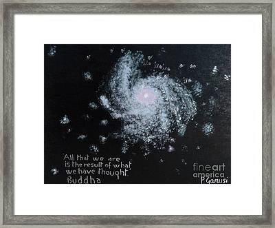 Power Of Thought Framed Print by Piercarla Garusi