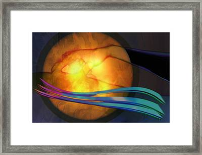 Power Of Touch Framed Print