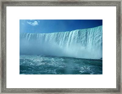 Power Of Water Framed Print
