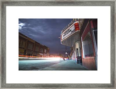 Power Out Framed Print by Shae Cohan
