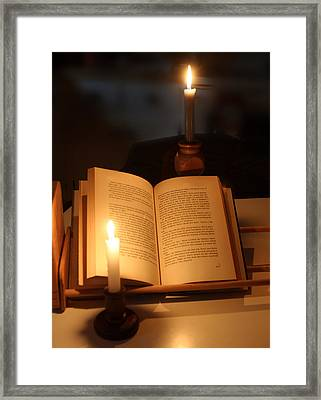 Power Outage Framed Print by Linda A Waterhouse