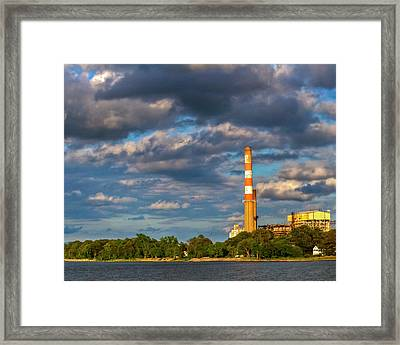 Power Plant Framed Print by Kevin Hill