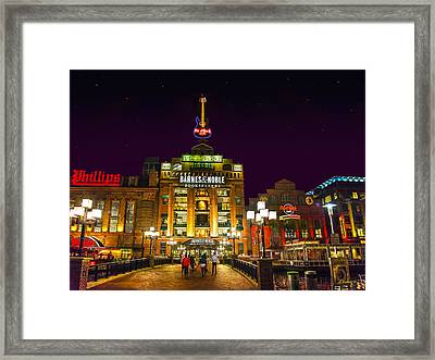Power Plant - Night Framed Print by Brian Wallace