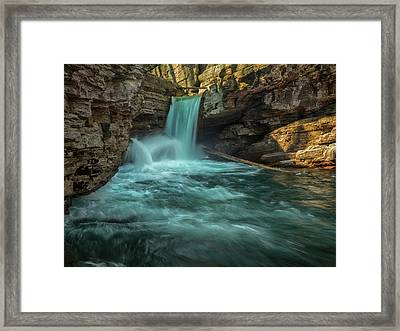 Power Play Framed Print