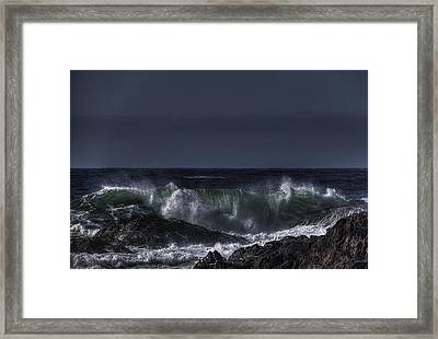 Power Framed Print by Randy Hall