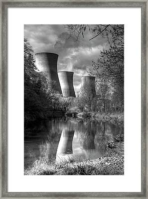 Power Station Framed Print by David French