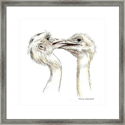 Power Struggle Framed Print