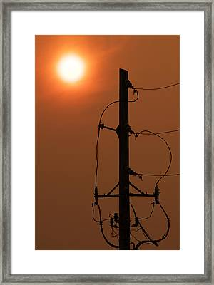 Power Up Framed Print by Don Spenner