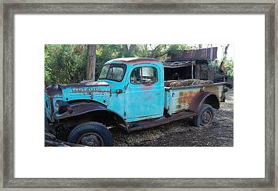 Power Wagon Framed Print