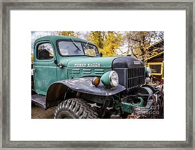 Power Wagon Framed Print by Lynn Sprowl