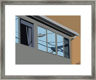 Power Windows Framed Print