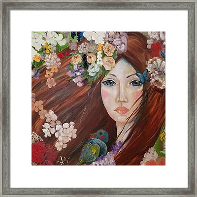Power Within Framed Print by Nadia Heppell