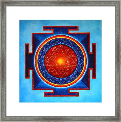 Power Yantra Framed Print