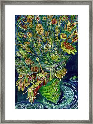 Powerflods Framed Print