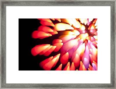 Powerful Explosion K874 Framed Print by Yoshiki Nakamura
