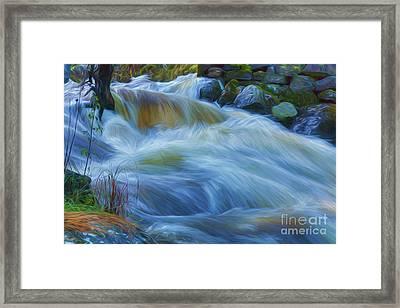 Powerful Flow 4 Framed Print