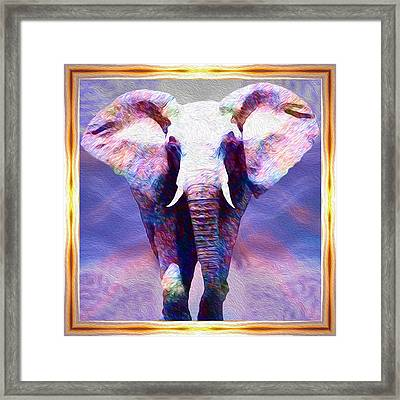 Powerful Journey Into A New Dawn Framed Print